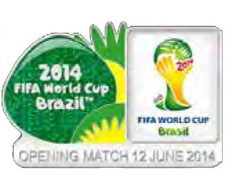 2014 World Cup Pins and Lanyards