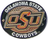 Oklahoma State Cowboys Oval Pin
