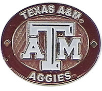 Texas A&M Aggies Oval Pin