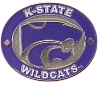 Kansas State Wildcats Oval Pin