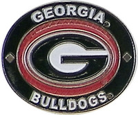 Georgia Bulldogs Oval Pin