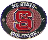 North Carolina State Wolfpack Oval Pin