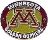 Minnesota Golden Gophers Oval Pin