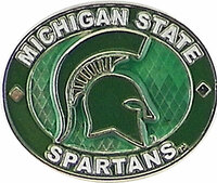Michigan State Spartans Oval Pin