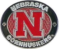 Nebraska Cornhuskers Oval Pin