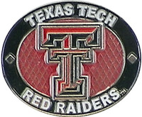 Texas Tech Red Raiders Oval Pin