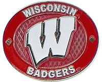 Wisconsin Badgers Oval Pin