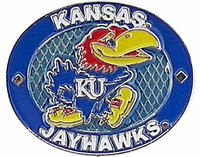 Kansas Jayhawks Oval Pin