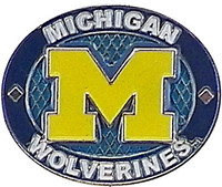 Michigan Wolverines Oval Pin