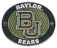 Baylor Bears Oval Pin