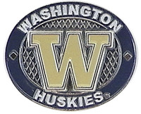 Washington Huskies Oval Pin