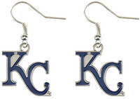 Kansas City Royals KC Earrings
