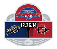 2015 San Diego County Poinsettia Bowl Navy vs. San Diego State