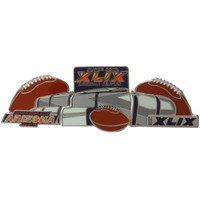2015 Super Bowl XLIX Stadium Three Pin Set