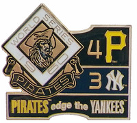 1960 World Series Commemorative Pin - Pirates vs. Yankees