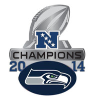 Seattle Seahawks 2014 NFC Champions Pin