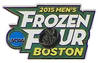 2015 Men's Frozen Four Logo Pin