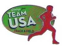 Rio de Janeiro 2016 Olympics Track & Field Double Pin