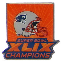 New England Patriots Super Bowl XLIX (49) Champions Pin - Arizona Style