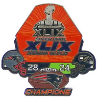 "Super Bowl XLIX (49) Champions ""Ultimate"" Pin - Limited 1,000 - Medium Collection"