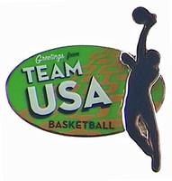 Rio de Janeiro 2016 Olympics Basketball Double Pin