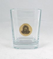 2015 Kentucky Derby 141 Shot Glass - Gold