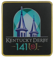 2015 Kentucky Derby 141 Logo Pin