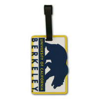 Cal Berkeley School Luggage Tag 2