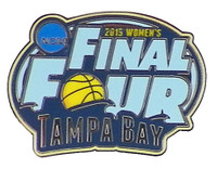 2015 Women's NCAA Final Four Logo Pin
