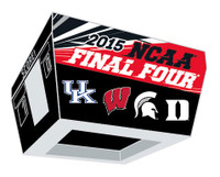 2015 Men's NCAA Final Four Teams Pin
