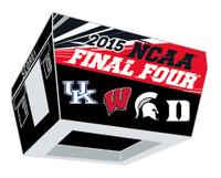 2015 Men's NCAA Final Four Teams Pin