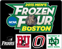2015 Men's Frozen Four Teams Pin