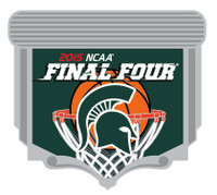 Michigan State Spartans 2015 Men's NCAA Final Four Pin