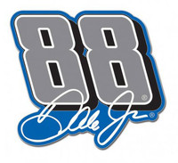 Dale Earnhardt Jr #88 Pin - Blue