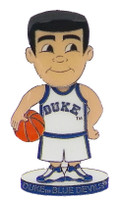 Duke Basketball Player Bobble Head Pin