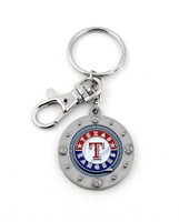 Texas Rangers Impact Key Ring