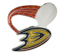 Anaheim Ducks Glitter Trail Pin