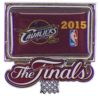 Cleveland Cavaliers 2015 NBA Finals Pin