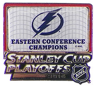 Tampa Bay Lightning 2015 NHL Eastern Conference Champions Pin