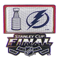 Tampa Bay Lightning 2015 NHL Stanley Cup Finals Pin