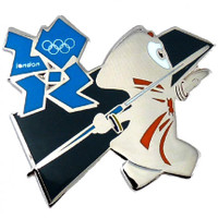 London 2012 Olympics Wenlock Javelin Pin