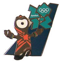 London 2012 Olympics Wenlock Welcome Pin