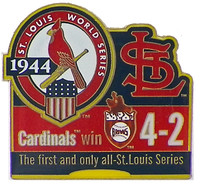 1944 World Series Commemorative Pin - Cardinals vs. Browns