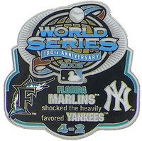 2003 World Series Commemorative Pin - Marlins vs. Yankees