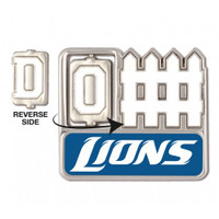 Detroit Lions Offense / Defense Spinner Pin