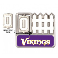 Minnesota Vikings Offense / Defense Spinner Pin