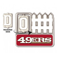 San Francisco 49ers Offense / Defense Spinner Pin