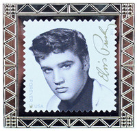 Elvis Presley Stamp Pin