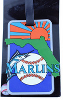 Florida Marlins Luggage Bag Tag