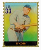 Ty Cobb Stamp Pin
